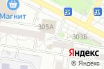 Схема проезда до компании Мобиле в Барнауле
