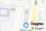 Схема проезда до компании ДЕЗ №1 Ленинского района, МУП в Барнауле