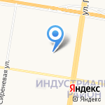 Почтовое отделение №67 на карте Барнаула