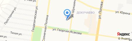ЖЭУ №21 на карте Барнаула