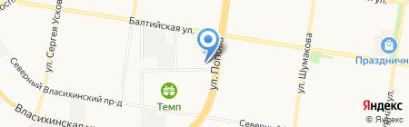 Компьютерные системы на карте Барнаула