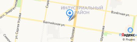 Сервис 12 вольт на карте Барнаула