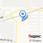 АлтайРегионЗнак на карте Барнаула