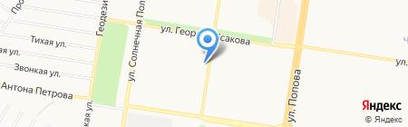 Социальное на карте Барнаула