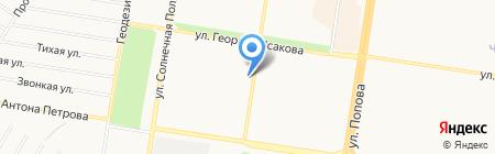Сантехника-Алтай на карте Барнаула
