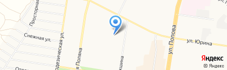 АлисаТур на карте Барнаула
