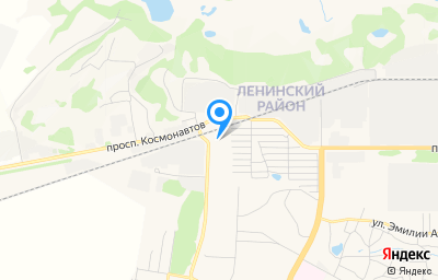 Местоположение на карте пункта техосмотра по адресу г Барнаул, пр-кт Космонавтов, д 63А