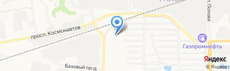 Хорс-А на карте Барнаула