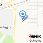 Грузовик22 на карте Барнаула
