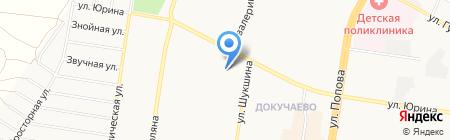 ДЮСШ №7 Факел на карте Барнаула