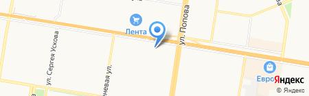 Мульти Пульти на карте Барнаула