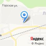 Новосибирская птицефабрика на карте Барнаула