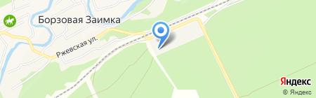 Энергетик на карте Барнаула