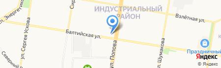 Город мастеров на карте Барнаула