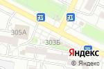 Схема проезда до компании Цветы Для Нее в Барнауле