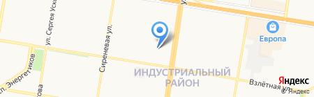 ЖЭУ №29 на карте Барнаула