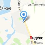 Овощевод на карте Барнаула