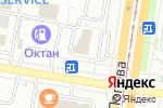 Схема проезда до компании Город мастеров в Барнауле