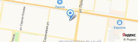 Детский сад №237 на карте Барнаула