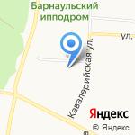 Алтайский государственный институт культуры на карте Барнаула