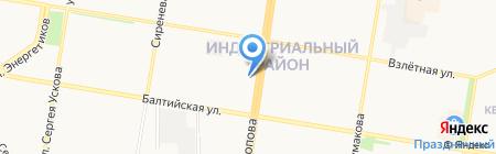 Оазис на карте Барнаула