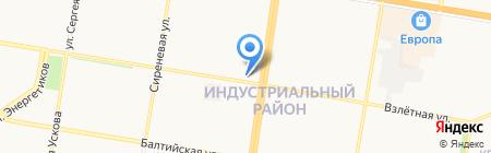Кенгуру на карте Барнаула