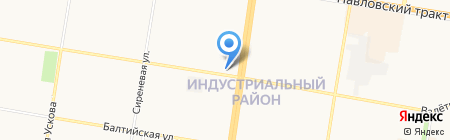 Эксклюзив на карте Барнаула