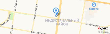АлтайМоби на карте Барнаула