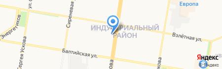 Априори Лекс на карте Барнаула