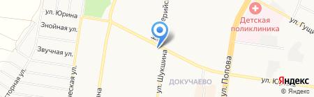 Юридический кабинет Ботенок Н.А. на карте Барнаула