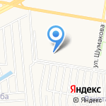 Лазурный 2 на карте Барнаула