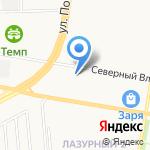 АвтоАйс на карте Барнаула