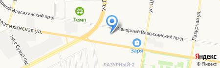 АвтоКлондайк на карте Барнаула