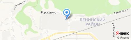 Фарм-продукт на карте Барнаула
