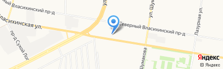 Алекс Авто на карте Барнаула