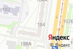 Схема проезда до компании ЖСК-140 в Барнауле