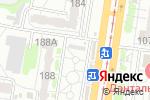 Схема проезда до компании Киоск по продаже колбасных изделий и сыров в Барнауле