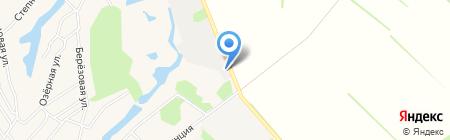 АЗС ГСМ-Инвест на карте Барнаула