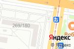 Схема проезда до компании Формула-Renault в Барнауле