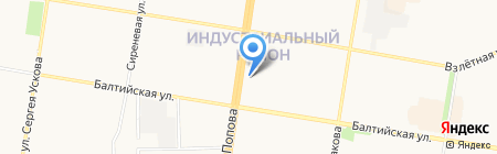 Аксиома на карте Барнаула