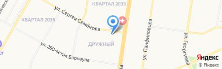 Калейдоскоп на карте Барнаула