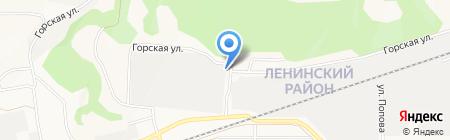 СК Город на карте Барнаула