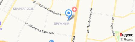 Beauty Time на карте Барнаула