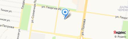 Феникс на карте Барнаула