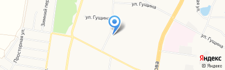 Библиотека №3 на карте Барнаула