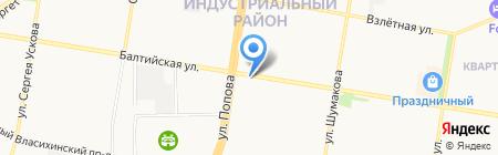 С изюминкой на карте Барнаула
