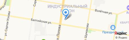 Надежда на карте Барнаула