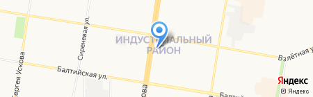 Вита-Сервис на карте Барнаула