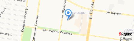 РАДА на карте Барнаула