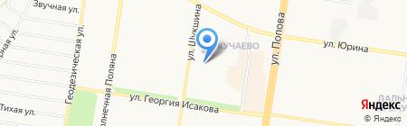 ПивБург на карте Барнаула